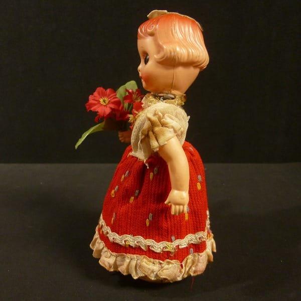 富士プレス工業 ゼンマイ ブリキ人形 / 日本製 レトロ玩具_2