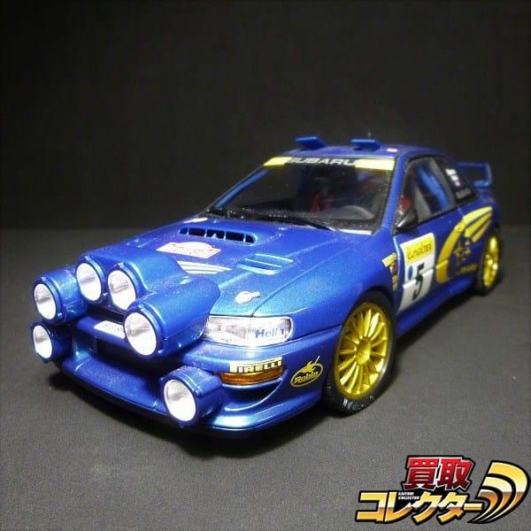 オートアート 1/18 インプレッサ WRC モンテカルロ カスタム品
