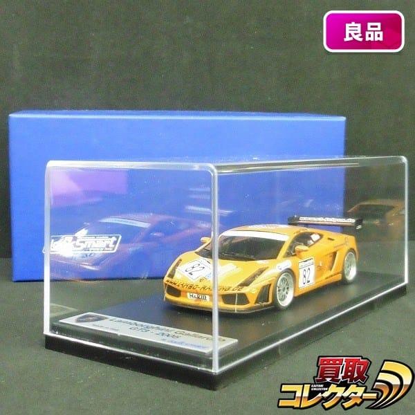 LOOKSMART 1/43 ランボルギーニ ガヤルド GT3 2005 / 京商