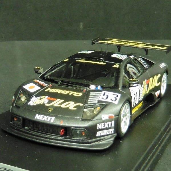 LOOKSMART 1/43 ランボルギーニ RG-T ル・マン 2006 レースver._2