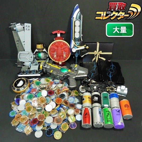 仮面ライダー オーズ なりきり 大量 DX タジャスピナー 他_1