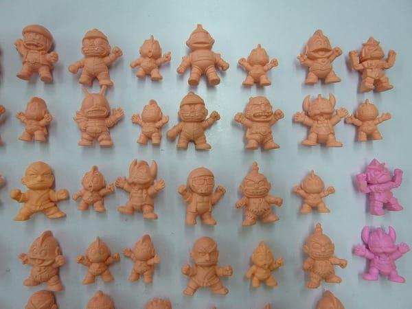 バンダイ 超人 キンタマン 消しゴム 人形 88個 当時 / キン消し_3