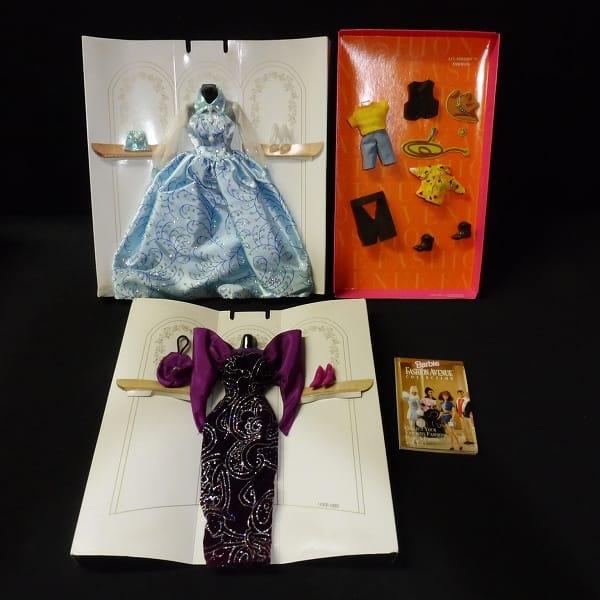 Barbie まとめ オレンジストライプ オールアメリカン ドレス 他_3