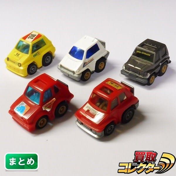 日本製 チョロQ A-35 ルノー5 ターボ 46 VW ゴルフ GTI CITY 他