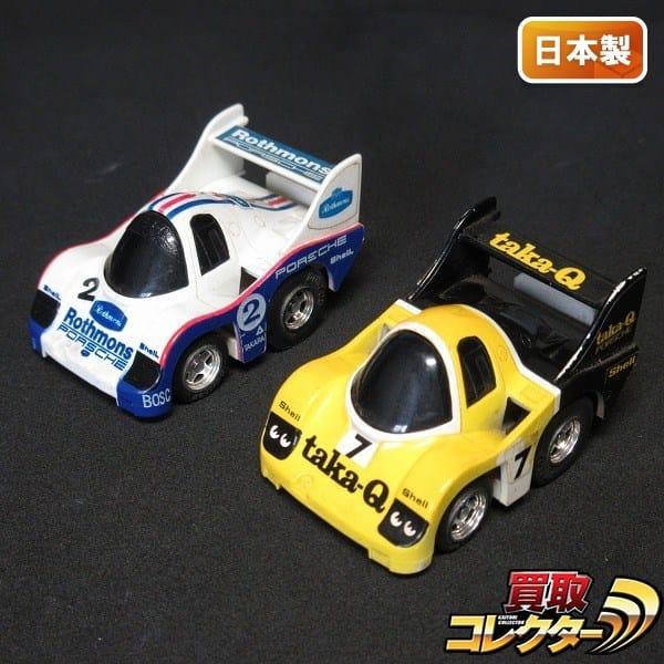 チョロQ HG No.008 ポルシェ956 ロスマンズ taka-Q 日本製