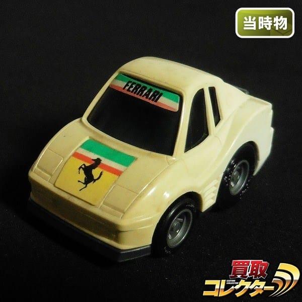 タカラ 当時物 チョロQ A-70 フェラーリ テスタロッサ 白 日本製_1