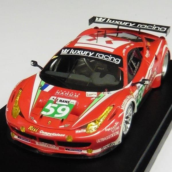 BBR 1/43 フェラーリ 458 イタリアGT2 ルマン24時間 2011 #59_2
