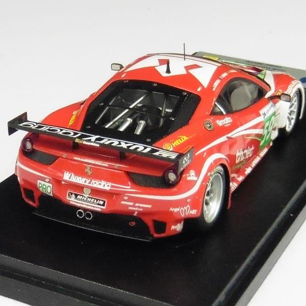 BBR 1/43 フェラーリ 458 イタリアGT2 ルマン24時間 2011 #59_3