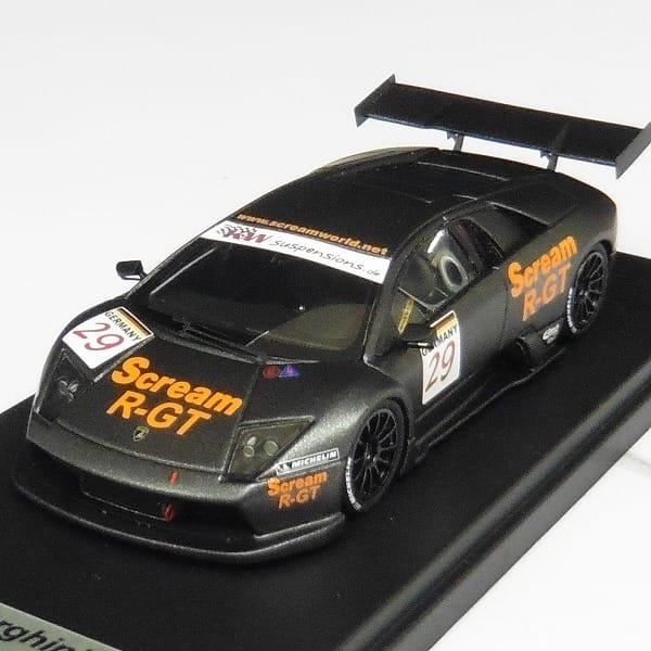 LOOKSMART 1/43 ランボルギーニR-GT バレンシア2004 レース_2