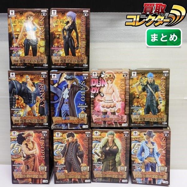 DXF コアラ ナミ トラファルガー・ロー サンジ フランキー 他_1