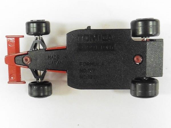 トミカ 赤箱 117 フェラーリ F-1 日本製 / レーシングカー_3