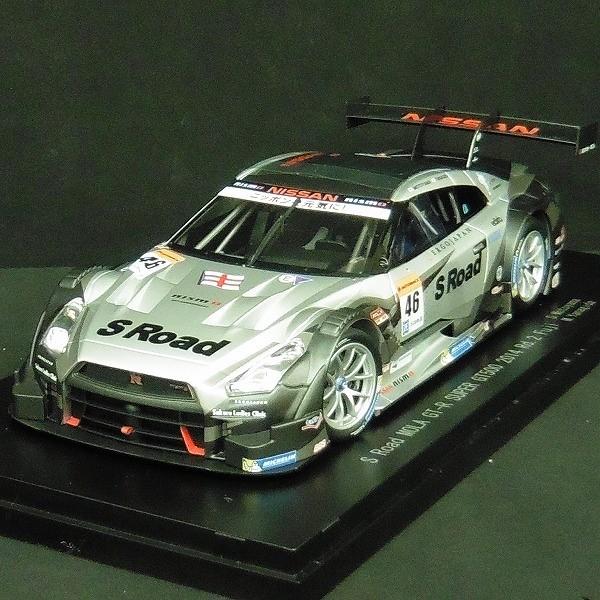 エブロ 1/18 スーパー GT500 2014 GT-R Rd. Fuji No.46 81018_3