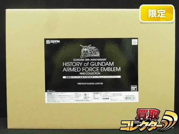 ZEPPIN ガンダム 生誕30周年 エンブレムピンズコレクション 限定_1