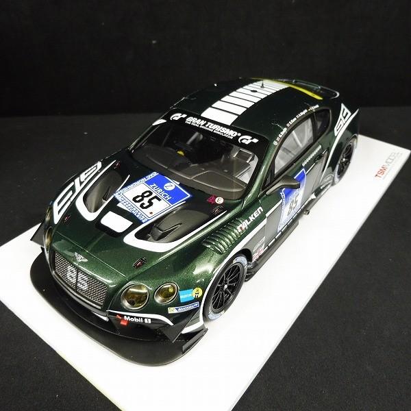 TSM 1/18 ベントレー GT3 #85 2015 ニュルブルクリンク_2