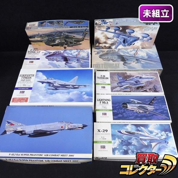 1/72 飛行機プラモ まとめて ハセガワ X-29 タイガーシャーク 他_1
