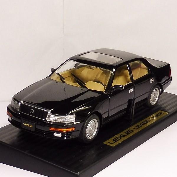 ロードタフ 1/18 レクサス LS400 1989 黒 / Road Tough LEXUS_2