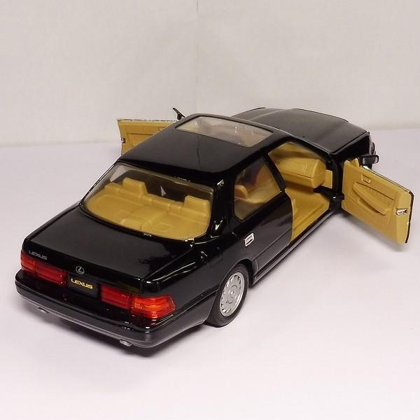 ロードタフ 1/18 レクサス LS400 1989 黒 / Road Tough LEXUS_3