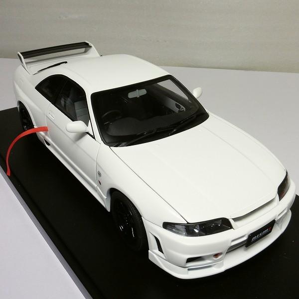 オートアート 1/18 スカイライン GT-R R33 V-Spec / ニスモ 白_3