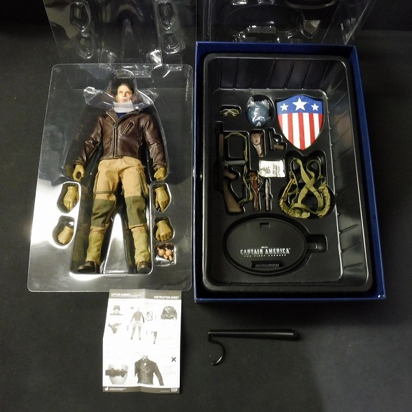 HOTTOYS 1/6 キャプテン・アメリカ 第二次世界大戦レスキュー版_3