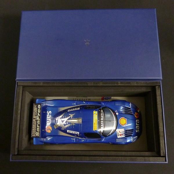 BBR 1/18 マセラッティ MC12 GT FIA 2007 / 250台限定_2