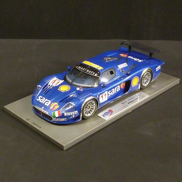 BBR 1/18 マセラッティ MC12 GT FIA 2007 / 250台限定_3