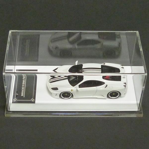 30台限定 D&G 1/43 Novitec F430 チャレンジ ホワイト_3