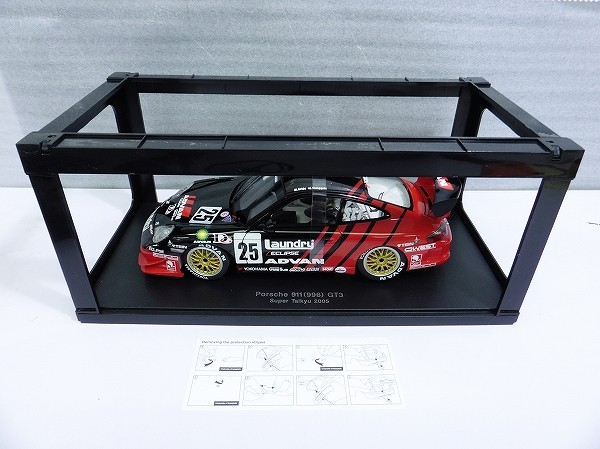 AUTOart 1/18 ポルシェ 911 (996) GT3スーパー耐久2005 #25_2
