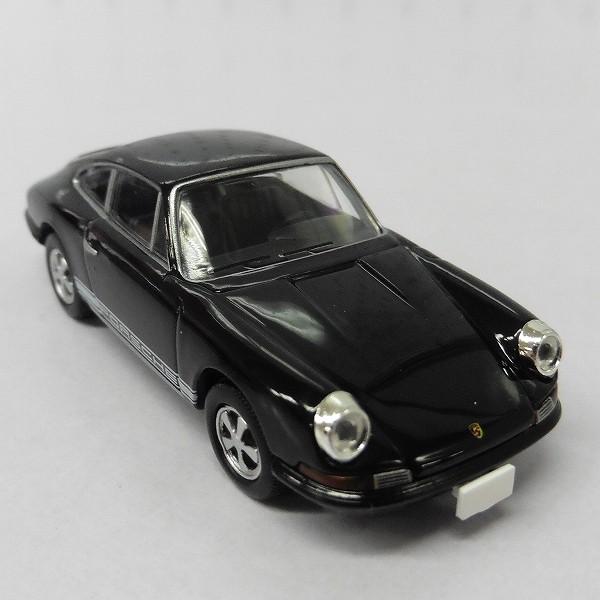 トミー トミカ LV-86c ポルシェ 911S 1968年式 黒 ブラック_3