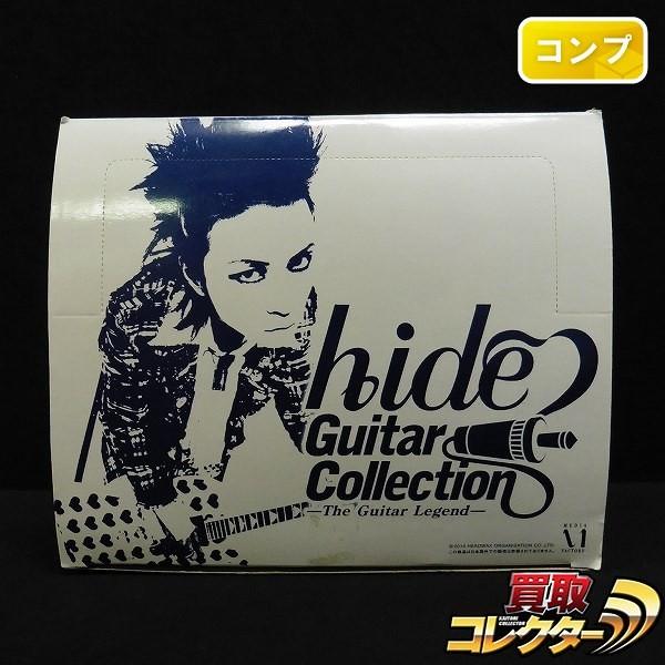 1/8 hide ギターコレクション シークレット含 全8種 10個 コンプ