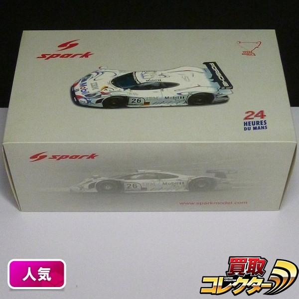 スパークモデル 1/18 ポルシェ911 GT1 #26 1998 ルマン 優勝車