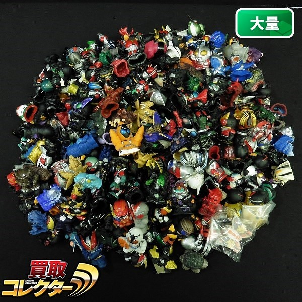 仮面ライダー ゴジラ ウルトラマン 戦隊 指人形 大量 / 特撮