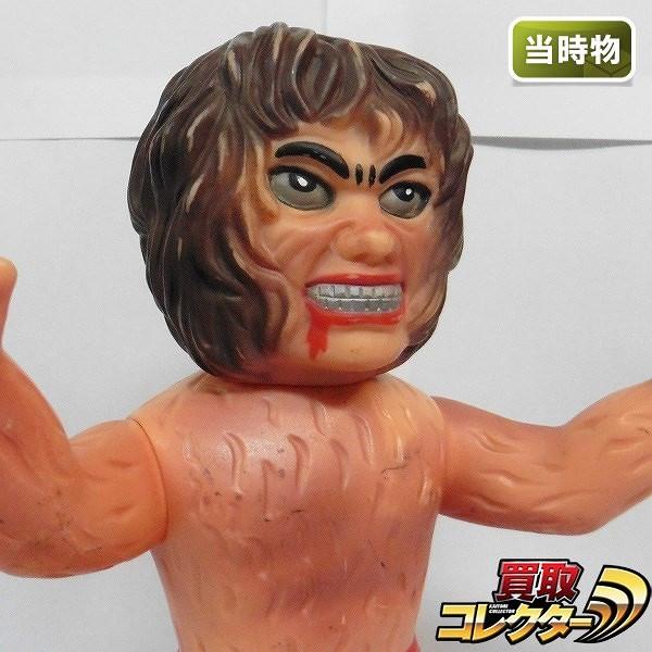 中嶋製作所 当時物 ソフビ ザ ドラキュラ / タイガーマスク