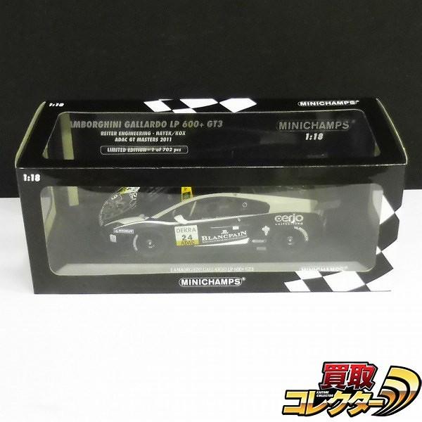 ミニチャンプス 1/18 ランボルギーニ ガヤルド LP600+ GT3 #24