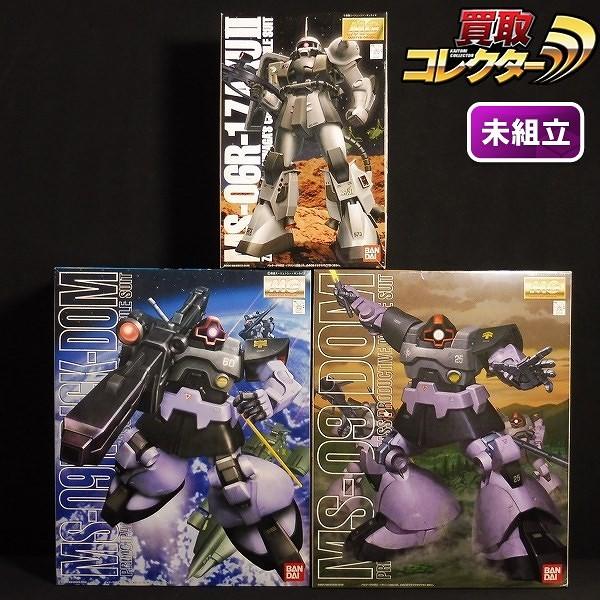 MG 1/100 ドム リック・ドム シン・マツナガ専用ザクII_1