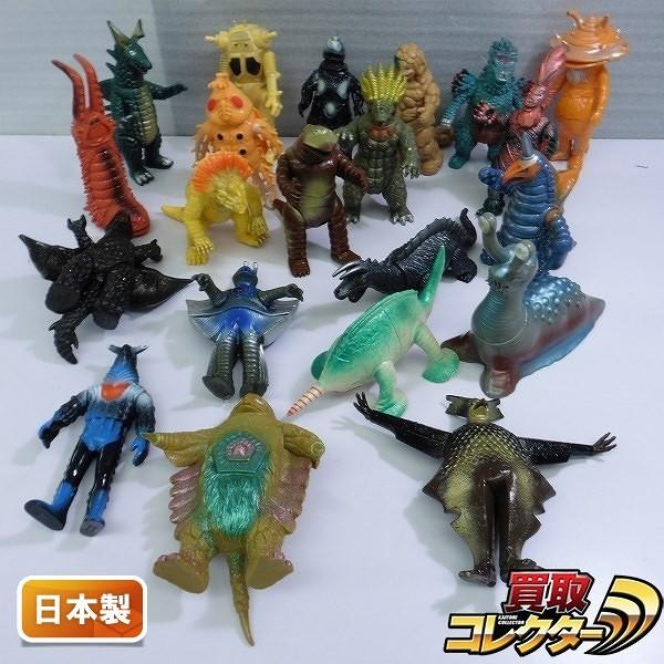 ウルトラ怪獣ソフビ 日本製 ペガッサ星人 キングザウルス三世 他