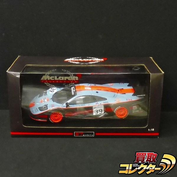 UTモデル 1/18 マクラーレン F1 GTR #39 Gulf ル・マン 1997