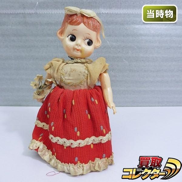 富士プレス工業 当時物 ダンシングマリー 日本製 ゼンマイ