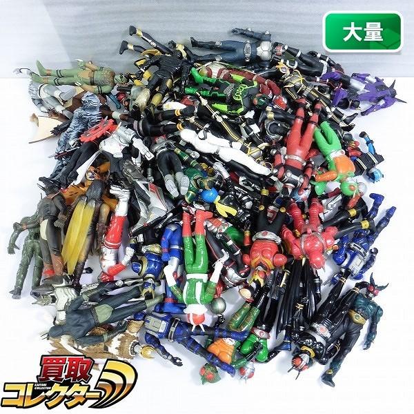 仮面ライダーBLACK RX シャドームーン V3 ファイズ ZX 他 ソフビ