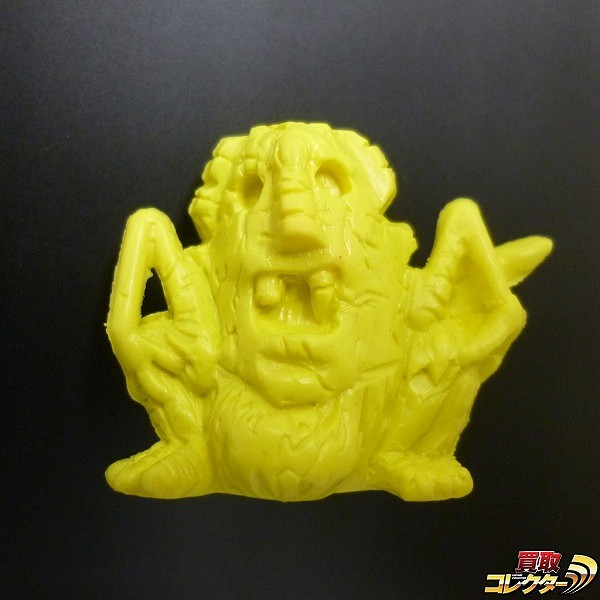 ビックリマン 大集合 消しゴム 人形 ネロ魔身 黄色 パチ