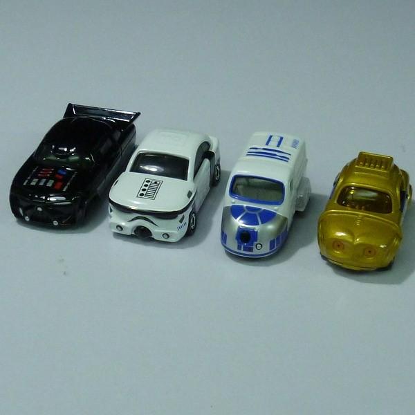 トミカ STAR CARS C-3PO R2-D2 BB-8 ヨーダ 他 / STAR WARS_3