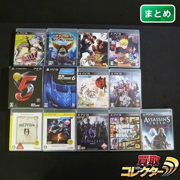 PS3 ソフト 大量 限定版 グランツーリスモ 5 6 大神 他 計13本_1