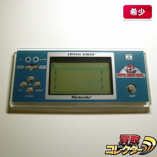 ゲームウォッチ クリスタルスクリーン スーパーマリオ / 任天堂_1