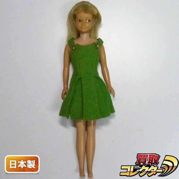 マテル 日本製 スキッパー 1960年代日本仕様 黒目  バービーの妹