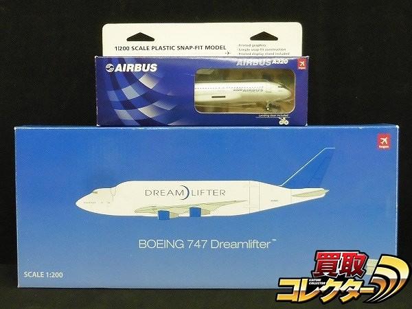 ホーガン 1/200 ドリームリフター B747 N780BA エアバスA320_1