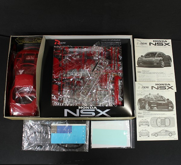 ロッソ 1/12 ホンダ NSX F-1 GP マーシャルカー_3