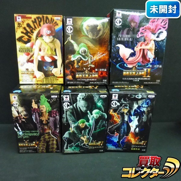 SCultures ONE PIECE 造形王頂上決戦 Ⅳ サボ 優秀作品 しらほし他