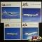 ヘルパ 1/500 JAL MD-11 DC-10-40 Boeing 747-400 767-300
