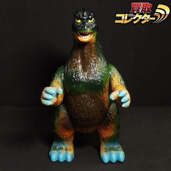スラッシュカンパニー 怪獣愛蔵組 ジャンボゴジラ / 黄土色成型