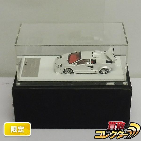 m.s. 1/43 ランボルギーニ カウンタック LP5000 QV Pホワイト