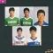 カルビー 日本リーグ サッカー カード 88年版 No.21 23 36 40 46
